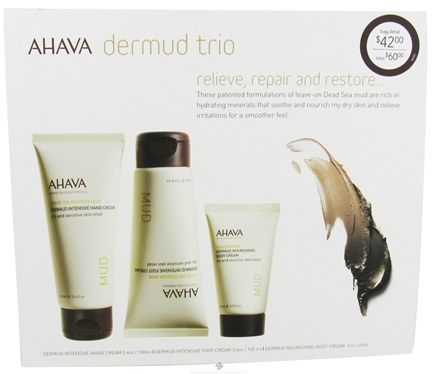 DROPPED: AHAVA - My Skin Reborn Dermud Trio Kit - CLEARANCE PRICED