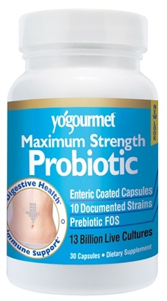 DROPPED: Yogourmet - Maximum Strength Probiotic - 30 Capsules