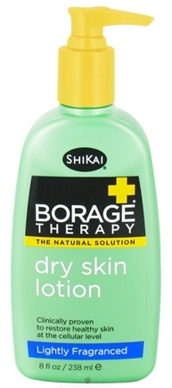 DROPPED: Shikai - Borage Therapy Dry Skin Lotion Lightly Fragranced - 8 oz. CLEARANCE PRICED