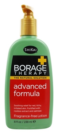 Shikai - Borage Therapy Advanced Formula Lotion Fragrance Free - 8 oz.