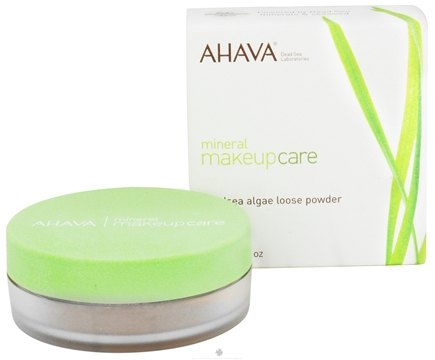 DROPPED: AHAVA - Mineral Makeup Care DeadSea Algae Loose Powder Fragrance-Free Medium Clay - 0.18 oz. CLEARANCE PRICED
