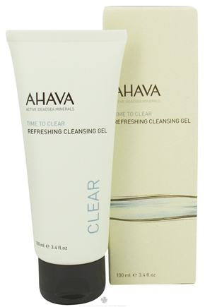 DROPPED: AHAVA - Time To Clear Refreshing Cleansing Gel - 3.4 oz. CLEARANCE PRICED