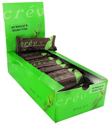 DROPPED: Crev - Truffle Bar All Natural Mint Hit - 1.8 oz.