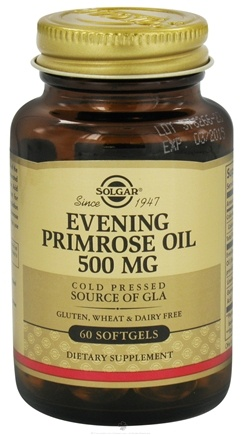 DROPPED: Solgar - Evening Primrose Oil 500 mg. - 60 Softgels CLEARANCE PRICED