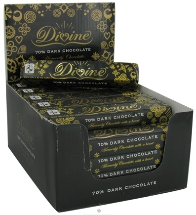DROPPED: Divine - 70% Dark Chocolate Bar - 1.5 oz. CLEARANCE PRICED