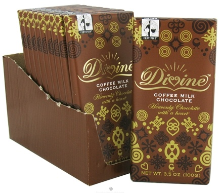 DROPPED: Divine - Milk Chocolate Bar Coffee - 3.5 oz.