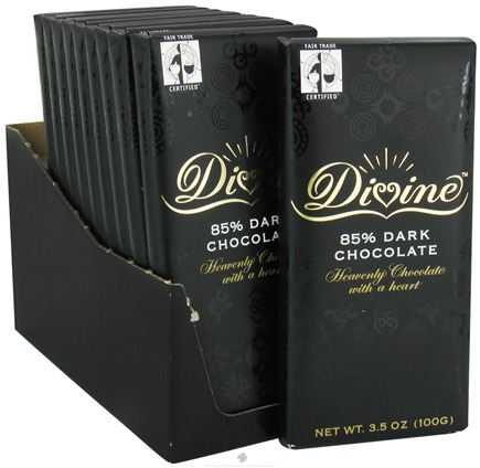 DROPPED: Divine - 85% Dark Chocolate Bar - 3.5 oz.