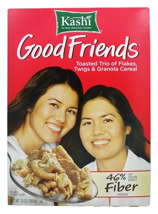 DROPPED: Kashi - Good Friends High Fiber Cereal - 13 oz.