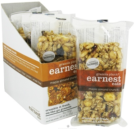 DROPPED: Earnest Eats - Granola Plank Maple Almond Crunch - 3 oz.
