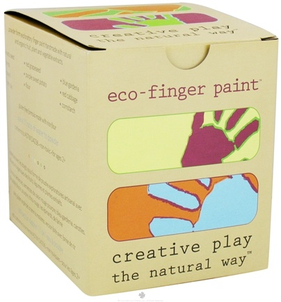 DROPPED: Eco-Kids - Eco-Paint Gluten Free 5 x 4 oz. Containers
