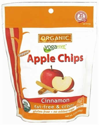 DROPPED: Yogavive - Apple Chips Organic Cinnamon - 1.41 oz.