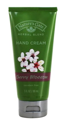 DROPPED: Nature's Gate - Hand Cream Herbal Blend Cherry Blossom - 3 oz. CLEARANCE PRICED