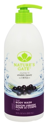 Nature's Gate - Acai Body Wash Acai - 18 oz.