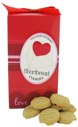 DROPPED: Too Good Gourmet - Shortbread Cookies Love Letters Pop Up - 7 oz. CLEARANCE PRICED