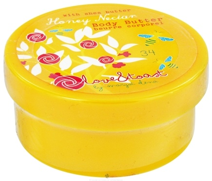 DROPPED: Love & Toast - Body Butter with Shea Butter Honey Nectar - 2 oz. CLEARANCE PRICED