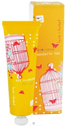 DROPPED: Love & Toast - Handcreme Mandarin Tea - 1.25 oz. CLEARANCE PRICED