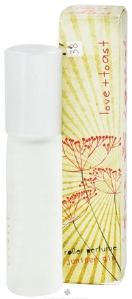DROPPED: Love & Toast - Roller Perfume Juniper Girl - 0.27 oz. CLEARANCE PRICED