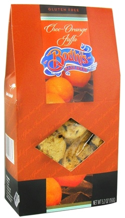 DROPPED: Bodhi's Bake House - Gluten Free Cookies Choc-Orange Jaffa - 5.2 oz. CLEARANCE PRICED