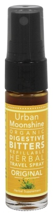 DROPPED: Urban Moonshine - Organic Digestive Bitters Original - 15 ml.