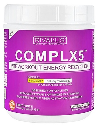 DROPPED: Rivalus - Complx5 Fruit Punch - 1.32 lbs. CLEARANCE PRICED