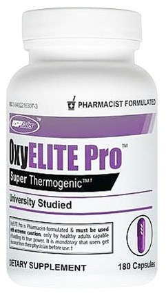 DROPPED: USP Labs - Oxy Elite Pro Super Thermogenic - 180 Capsules