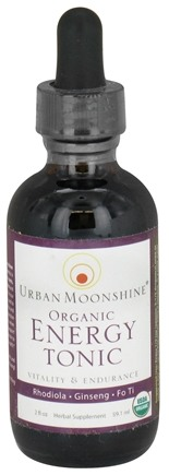 DROPPED: Urban Moonshine - Organic Energy Tonic - 2 oz. CLEARANCE PRICED