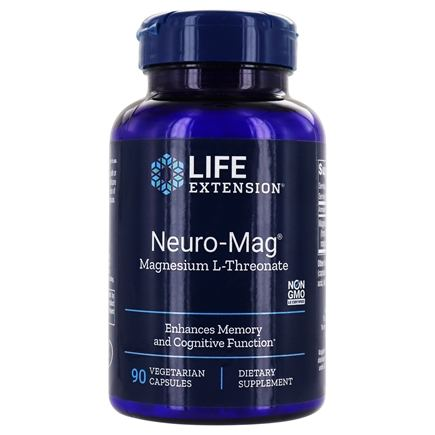 Life Extension - Neuro-Mag Magnesium L-Threonate - 90 Vegetarian Capsules