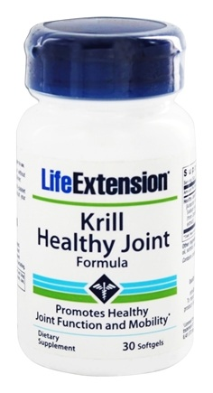 Life Extension - Krill Healthy Joint Formula - 30 Softgels