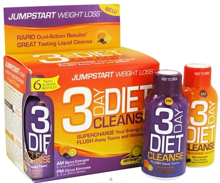 DROPPED: ReNew Life - 3 Day Diet Cleanse 6 Twist & Drink Bottles - 6 Bottle(s)