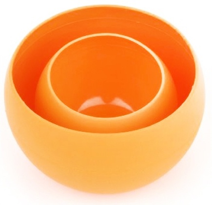 DROPPED: Guyot Designs - MealGear Squishy Bowl Set Tangerine - CLEARANCE PRICED