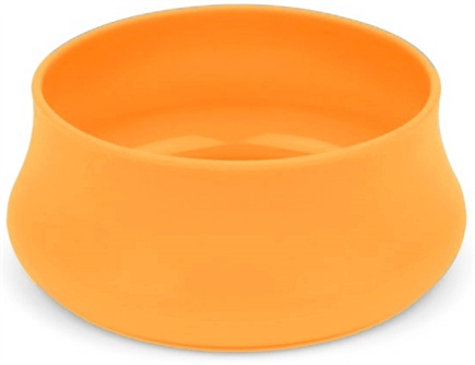 DROPPED: Guyot Designs - Squishy Dog Bowl Trail Size Tangerine - 24 oz. CLEARANCE PRICED