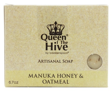 DROPPED: Wedderspoon Organic - Mankua Honey & Oatmeal Bar Soap - 6.7 oz. Formerly Omaderm Body Bar
