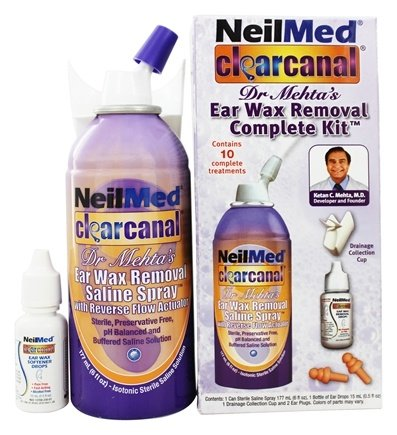NeilMed Pharmaceuticals - ClearCanal Ear Wax Removal Complete Kit