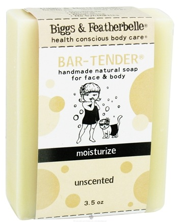 DROPPED: Biggs & Featherbelle - Bar-Tender Handmade Natural Soap Unscented - 3.5 oz. CLEARANCE PRICED