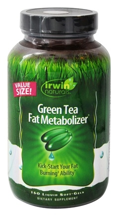 Irwin Naturals - Green Tea Fat Metabolizer - 150 Softgels