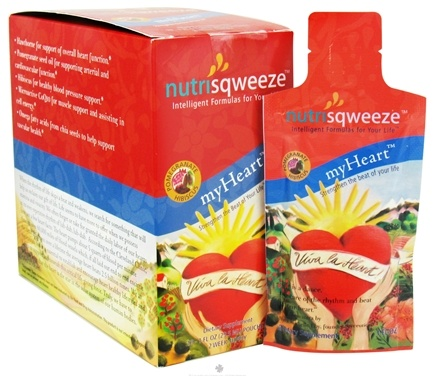 DROPPED: Rejuvila - NutriSqweeze myHeart - 10 Packet(s)