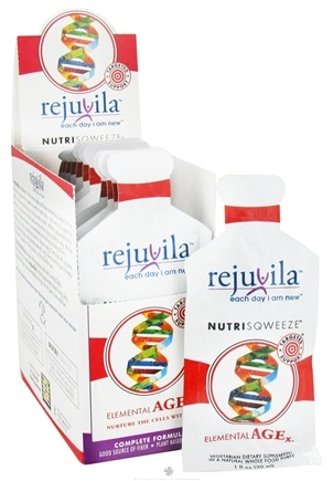DROPPED: Rejuvila - NutriSqweeze Elemental Age - 12 Packet(s) CLEARANCE PRICED