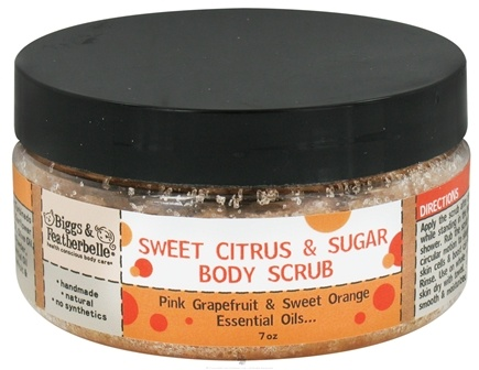 DROPPED: Biggs & Featherbelle - Body Scrub Sweet Citrus & Sugar - 7 oz. CLEARANCE PRICED