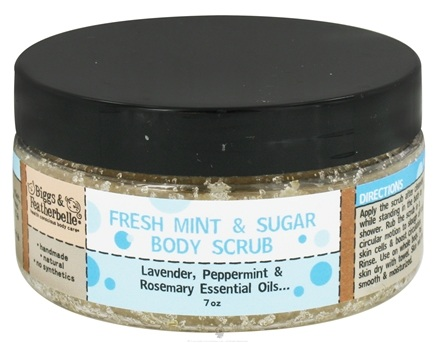 DROPPED: Biggs & Featherbelle - Body Scrub Fresh Mint & Sugar - 7 oz.