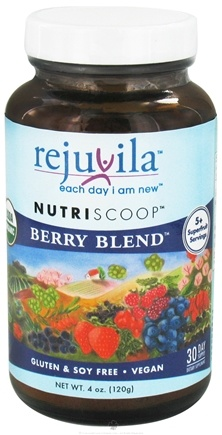 DROPPED: Rejuvila - NutriScoop Berry Blend - 4 oz. CLEARANCE PRICED