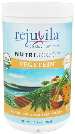 DROPPED: Rejuvila - NutriScoop Vegetein - 10.5 oz. CLEARANCE PRICED