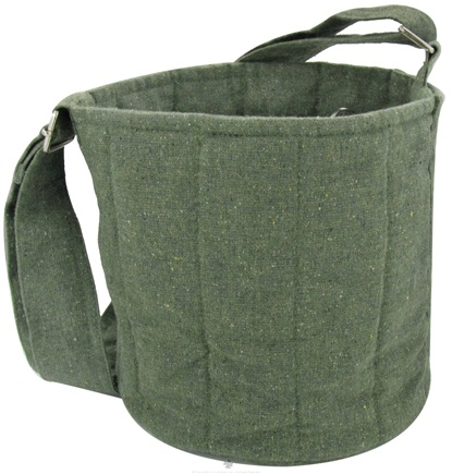 DROPPED: To-Go Ware - 2-Tier Recycled Cotton Carrier Bag Forest Green - CLEARANCE PRICED