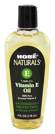 Hobe Labs - Vitamin E Oil 7500 IU - 4 oz.