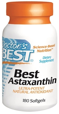 DROPPED: Doctor's Best - Best Astaxanthin 6 mg. - 180 Softgels