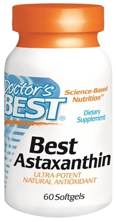 DROPPED: Doctor's Best - Best Astaxanthin 6 mg. - 60 Softgels