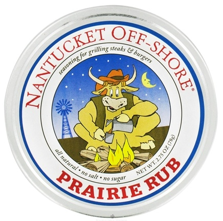 DROPPED: Nantucket Off-Shore - Prairie Rub Seasoning for Grilling Steaks and Burgers - 2.75 oz.