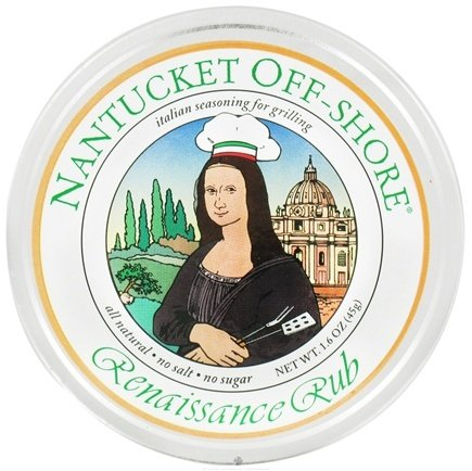 DROPPED: Nantucket Off-Shore - Renaissance Rub Italian Seasoning for Grilling - 1.6 oz.