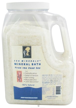 DROPPED: Sea Minerals - Mineral Bath From The Dead Sea - 10 lbs.