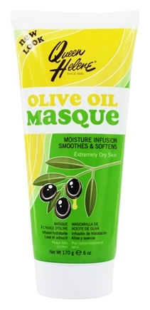 Queen Helene - Refreshing Olive Oil Masque Intense Moisture Facial for Dry Skin - 6 oz.