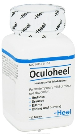 DROPPED: BHI/Heel - Oculoheel - 100 Tablets